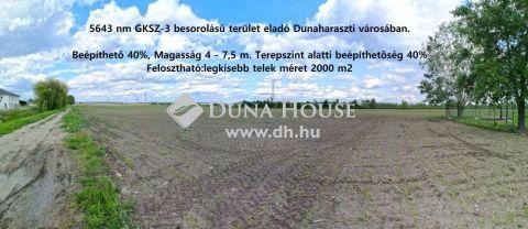 Eladó Telek, Pest megye, Dunaharaszti