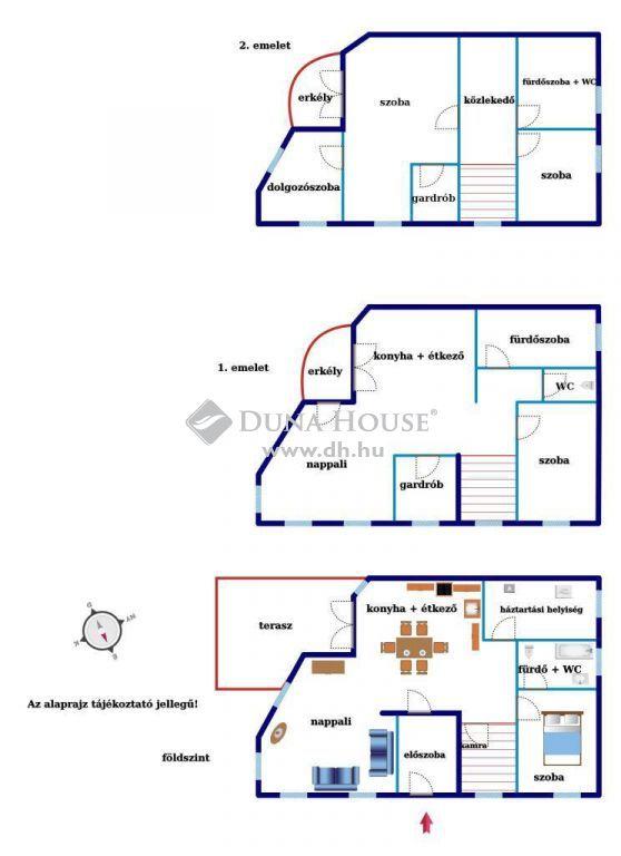 Eladó Ház, Pest megye, Budaörs - Panorámás, több generációs otthon a központban!
