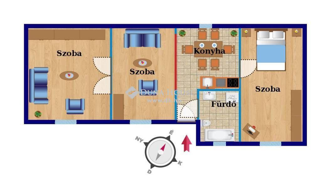 Eladó Ház, Bács-Kiskun megye, Kecskemét - Bethlen krt.