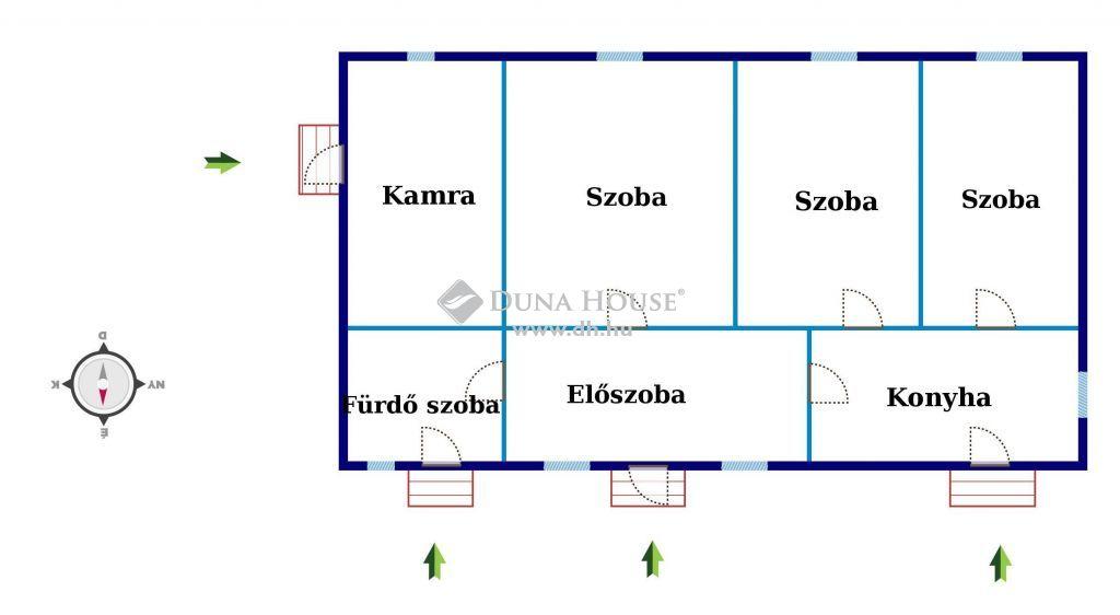 Eladó Ház, Csongrád megye, Kistelek