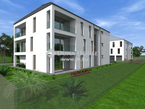 Tócóvölgyi lakóparkban 7 lakásos új társasház II. ütem