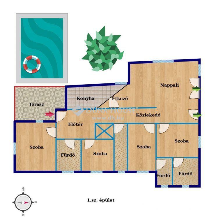 Eladó Ház, Somogy megye, Balatonszabadi - Szabadiban medencével