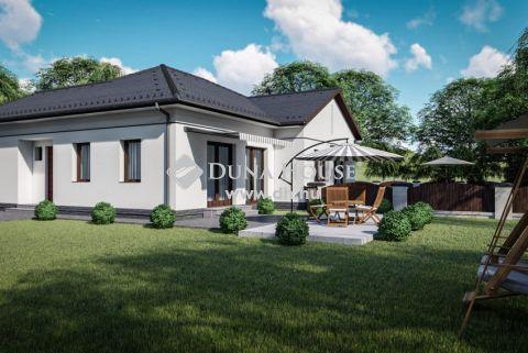 Eladó Ház, Bács-Kiskun megye, Kecskemét - Nappali + 2 szobás új építésű ikerház 360 nm-es telekrésszel - Vacsiköz