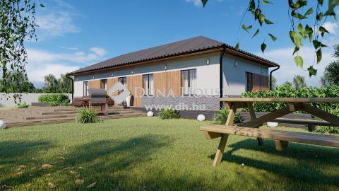Eladó Ház, Bács-Kiskun megye, Kecskemét - Hollandfaluban önálló 500 nm-es telken, új építésű családi ház